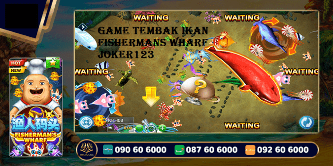 Game Tembak Ikan Fishermans Wharf Joker123